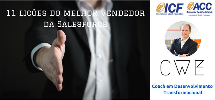 11 lições do melhor vendedor da Salesforce