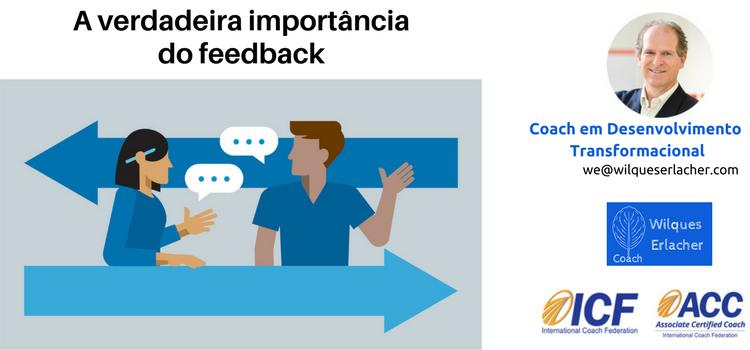 A verdadeira importância do feedback