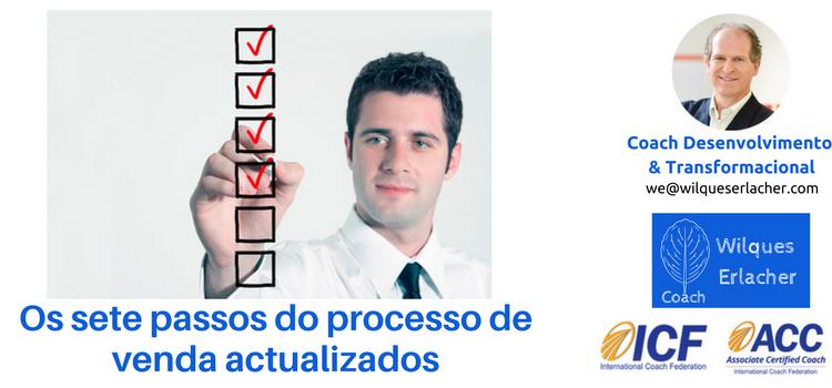 Os sete passos do processo de venda actualizados